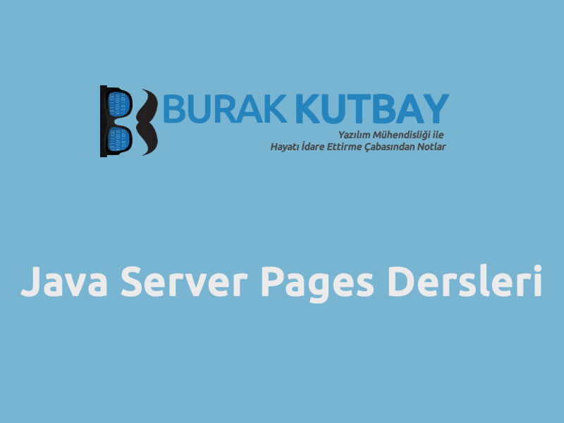 Java Server Pages Dersleri