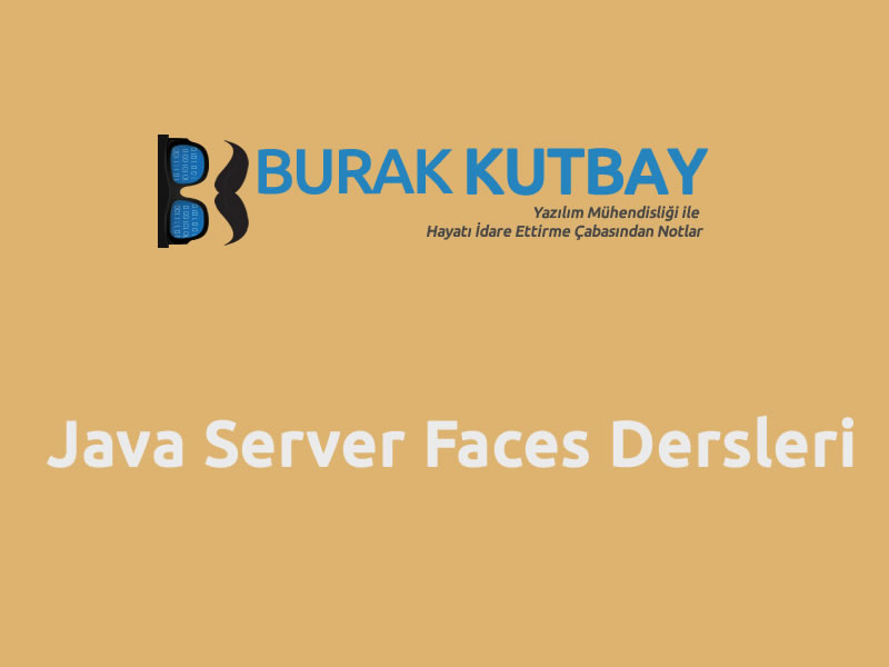Java Server Faces Dersleri